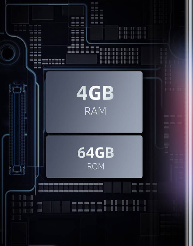 Teclast P20HD Memory and Storage