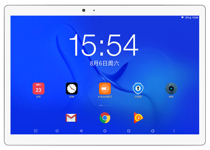 Teclast T20 Tablet 13.0MP front camera