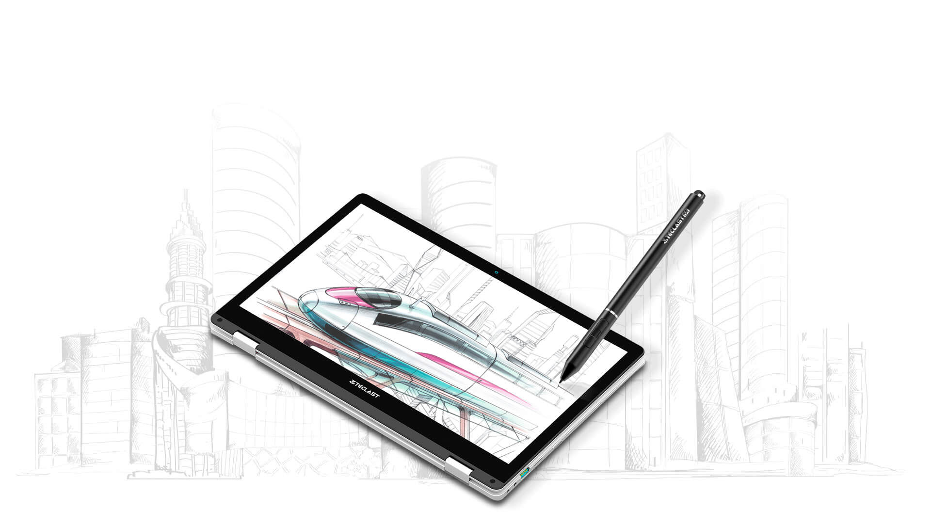 Teclast TL-T6 Stylus for Teclast F6 Plus Laptop